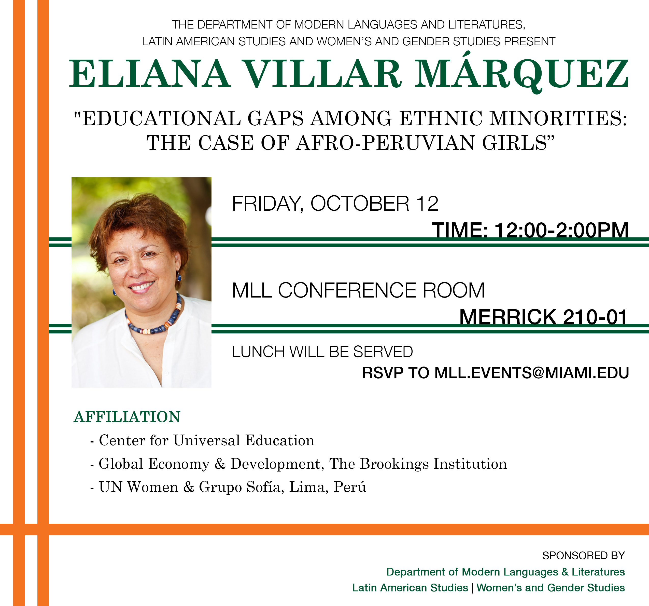 Past Events | Modern Languages & Literatures | University of Miami