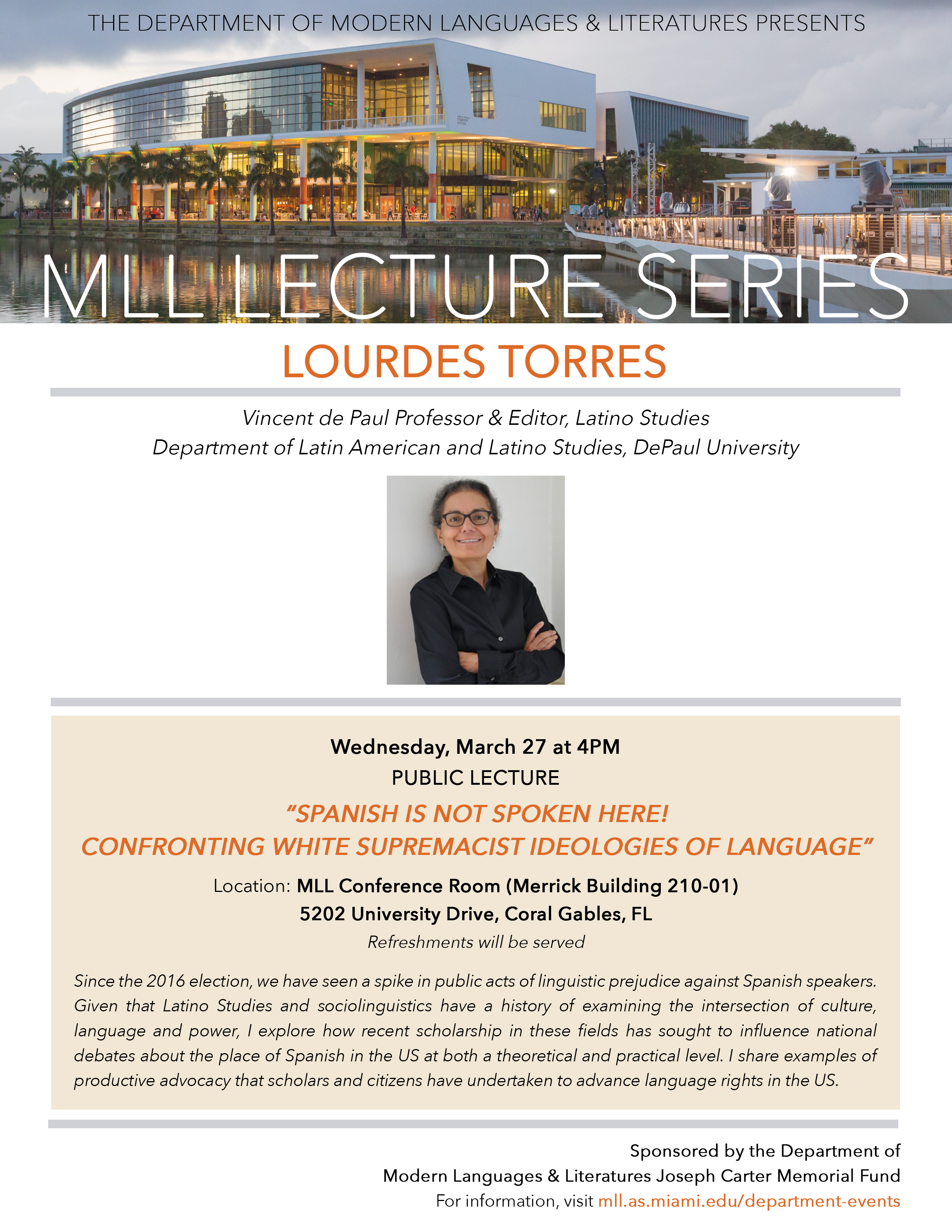 70f4251fe5a58 MLL Lecture Series  Lourdes Torres